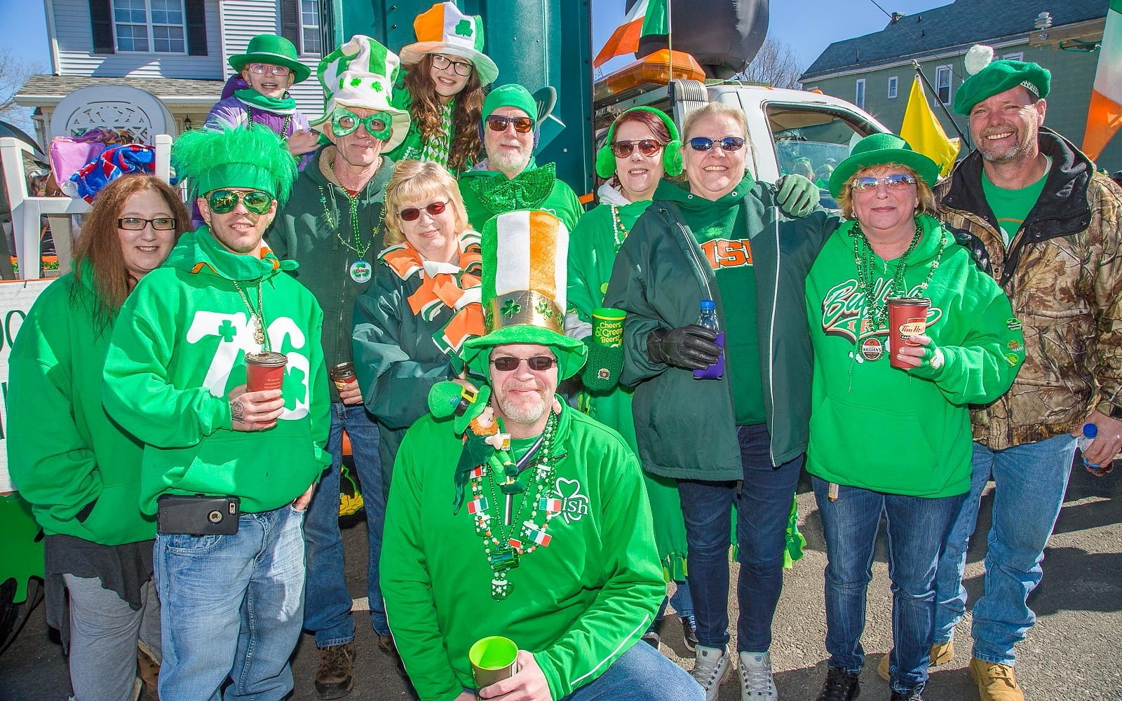 Buffalo loves everything about St. Patrick's Day, including the parades. (Don Nieman/Special to The News)