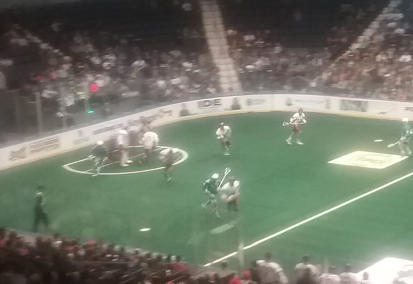The Bandits and Knighthawks needed more than 60 minutes to decide their game Saturday.