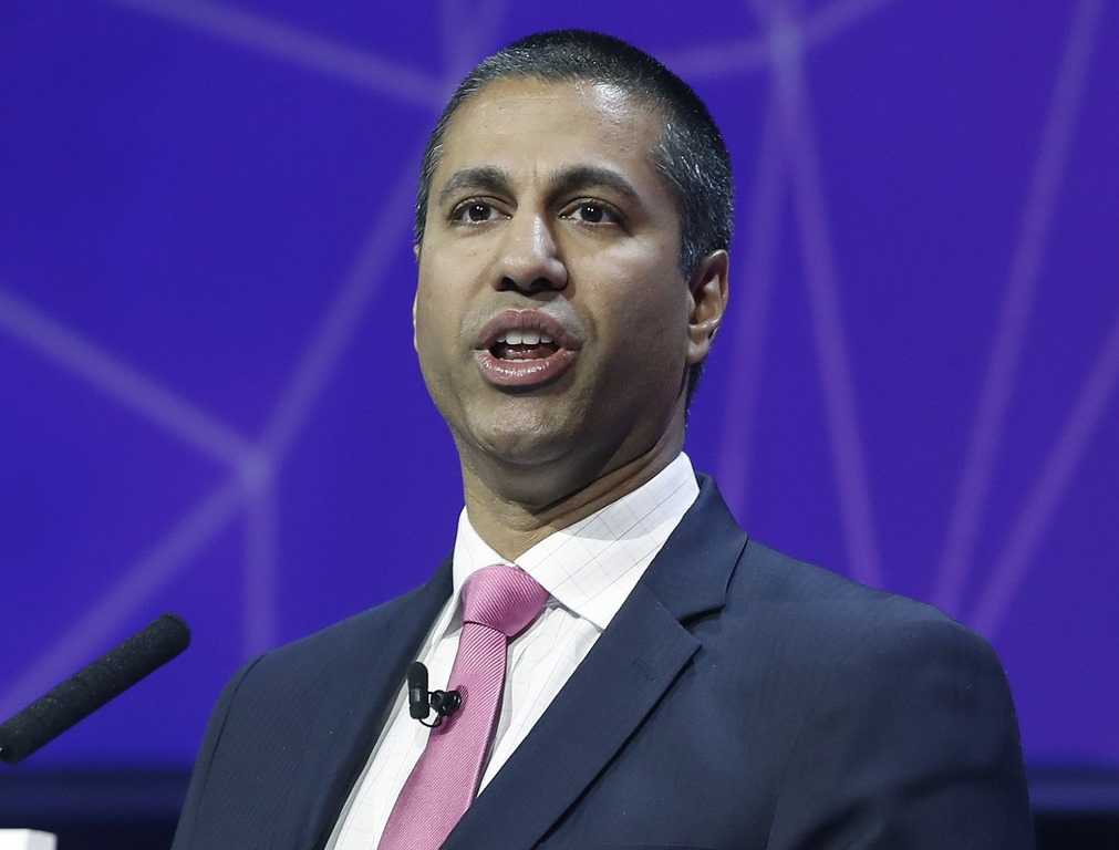 Ajit Pai, chairman of the FCC, argued that privacy rules were onerous and unfairly strapped regulations on telecom carriers, but not on web companies such as Facebook and Google that also provide access to online content. (TNS photo)