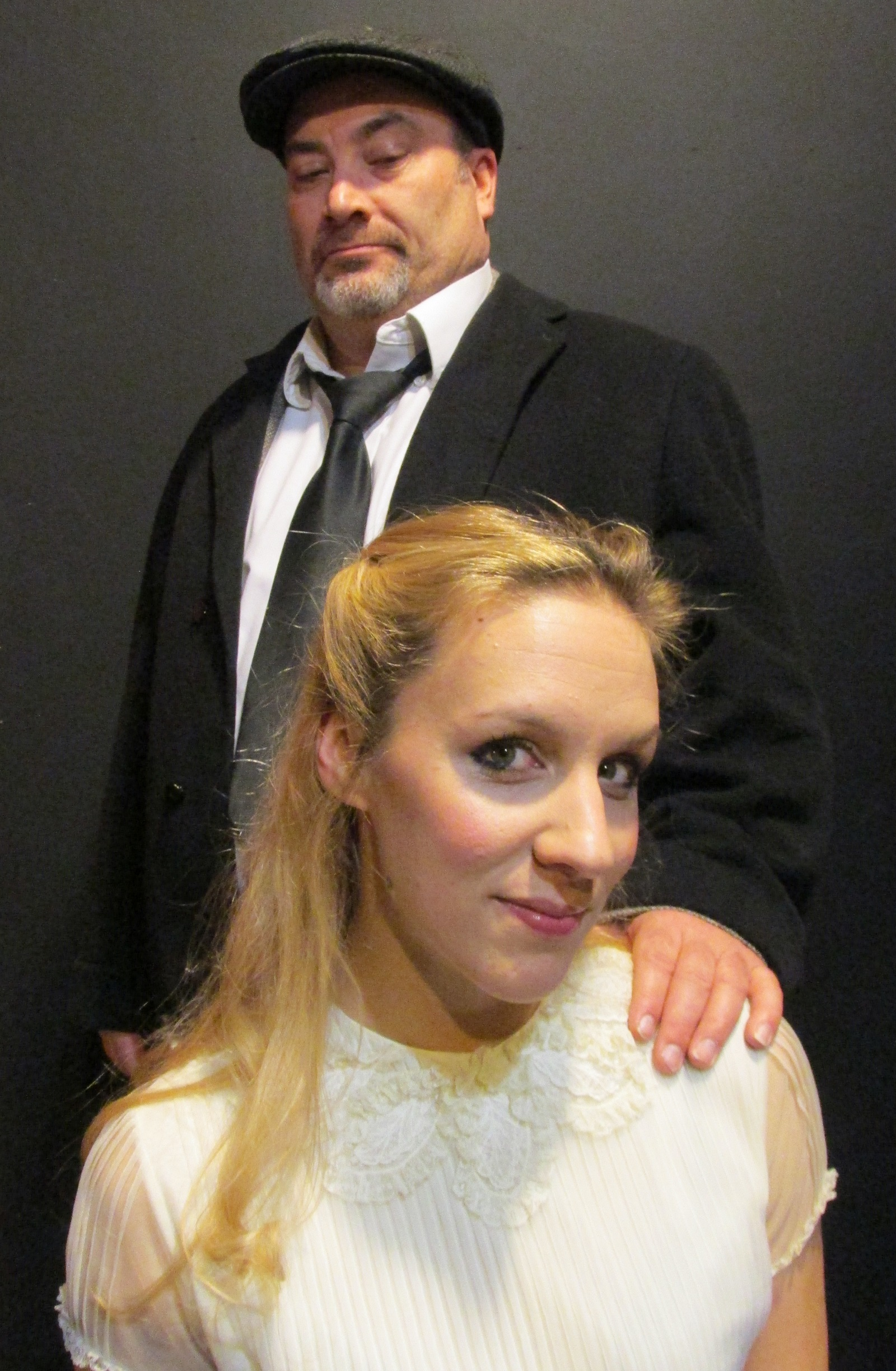 David C Mitchell and Candice Kogut star in the Steve Martin comedy 'Underpants' at American Repertory Theater of WNY.