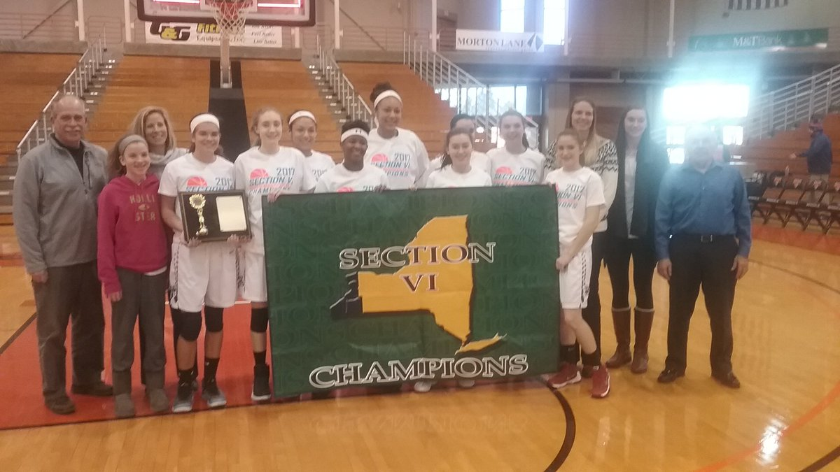 Williamsville South enjoys its A-1 girls basketball title.