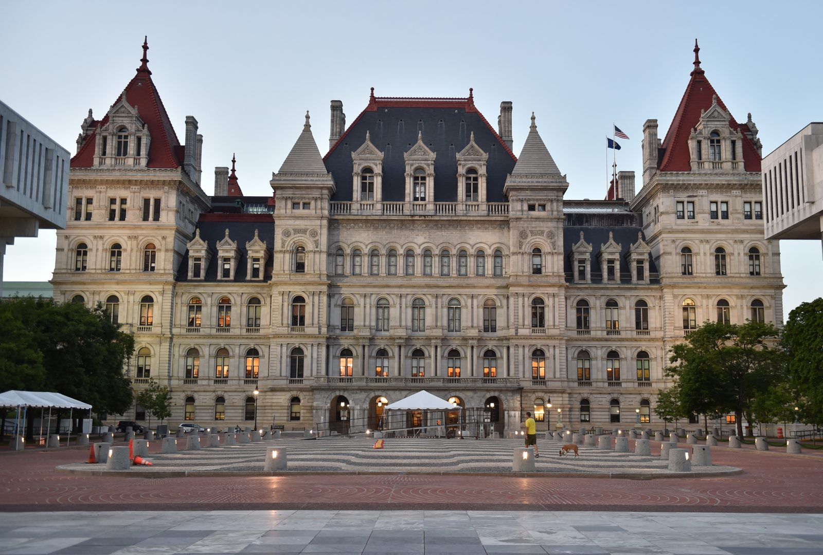 The State Capitol in Albany.