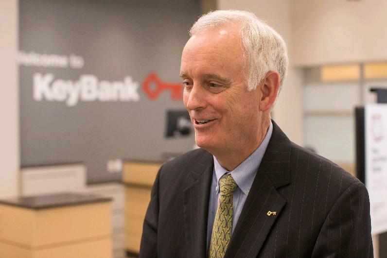 Buford Sears, KeyBank Buffalo regional market president. (Derek Gee/Buffalo News)