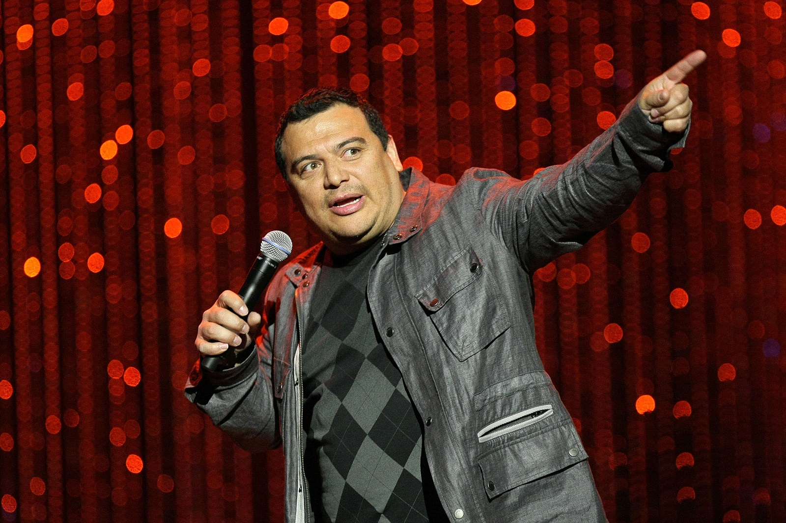 Carlos Mencia returns for five shows at Helium Comedy Club.  (Getty Images)