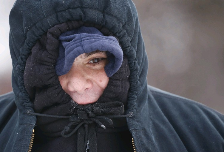 The coldest air since March arrives in Buffalo Thursday night with sub-freezing temperatures behind an Arctic front that will bring a brief snow squall to the region and then a record-breaking chilly Friday.  (John Hickey/Buffalo News file photo)