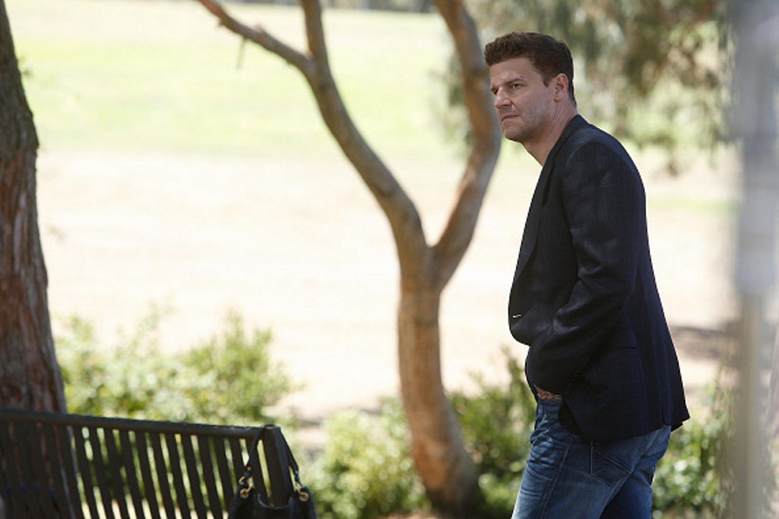 David Boreanaz in the 'The Lance to the Heart' episode of 'Bones.' After 12 years, the series is coming to an end. (Photo by FOX via Getty Images)