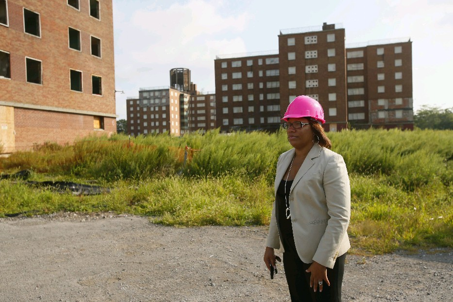 The chairman of the powerful Senate Judiciary Committee wants to know why BMHA director Dawn E. Sanders-Garrett spends so much time traveling when conditions like those at Kensignton Heights demand attention here. (Derek Gee/News file photo)