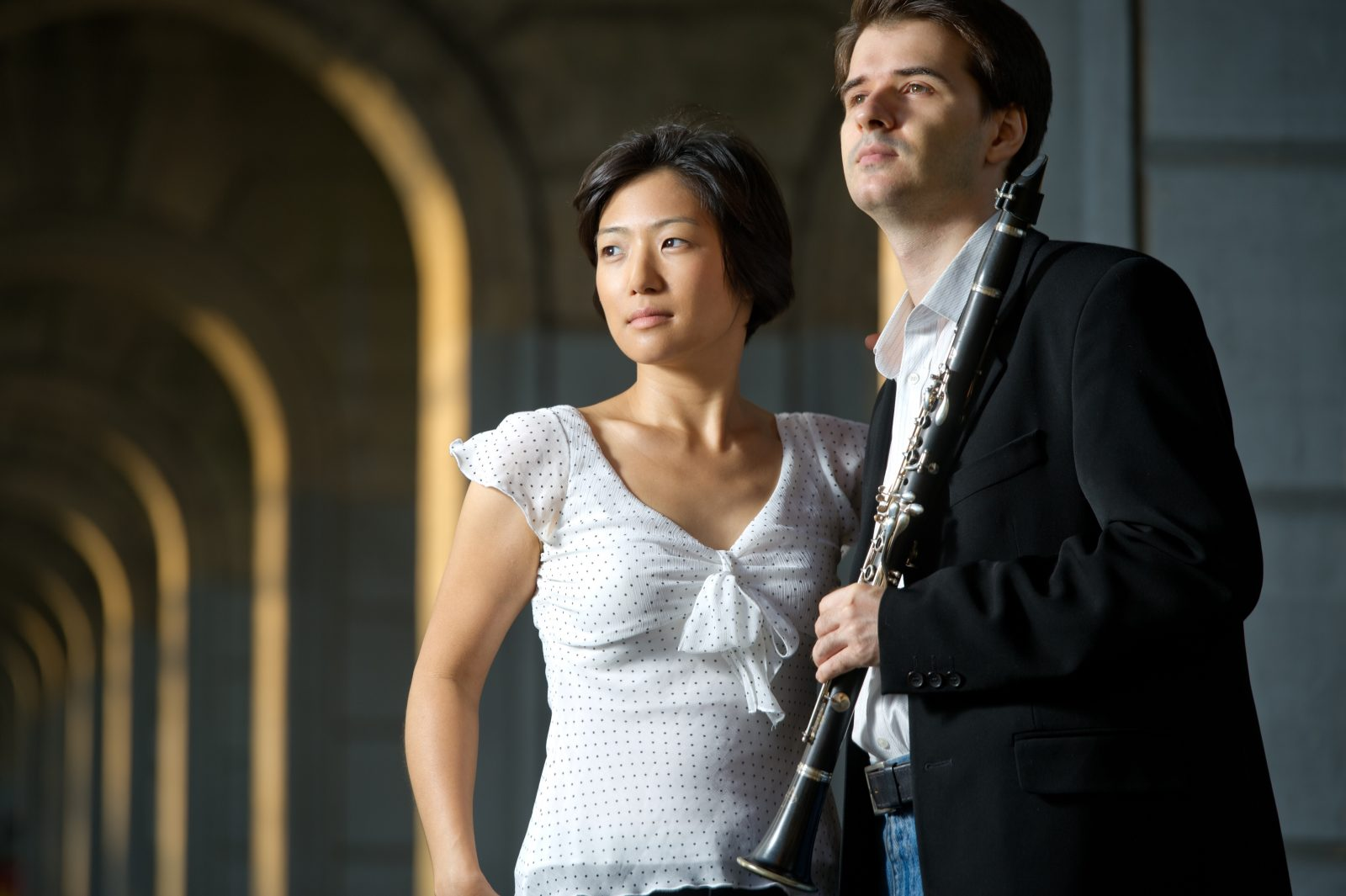 Misuzu Tanaka and Maksim Shtrykov are performing at the Friends of Vienna. (Photo by Denis Gostev)
