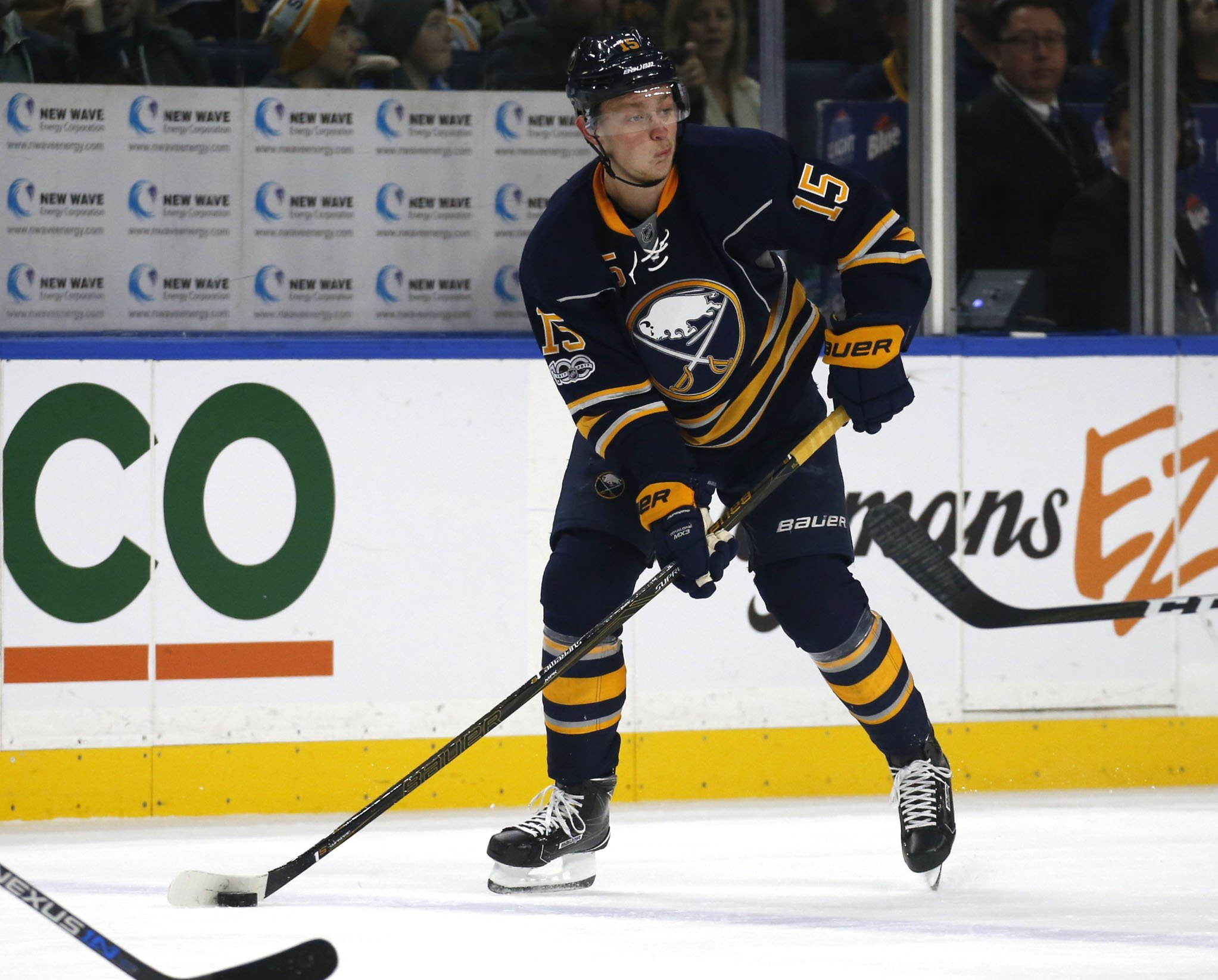 Jack Eichel is not expected to get much national TV exposure this year, but that could change. (Robert Kirkham/Buffalo News)