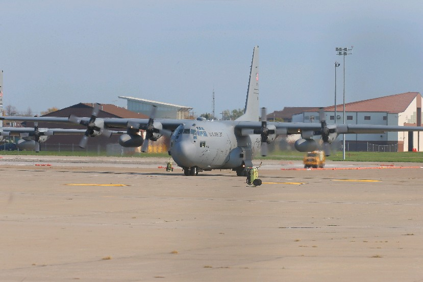 Buying development rights around the Niagara Falls Air Reserve Station could protect it in future rounds of base closings. (John Hickey/News file photo)