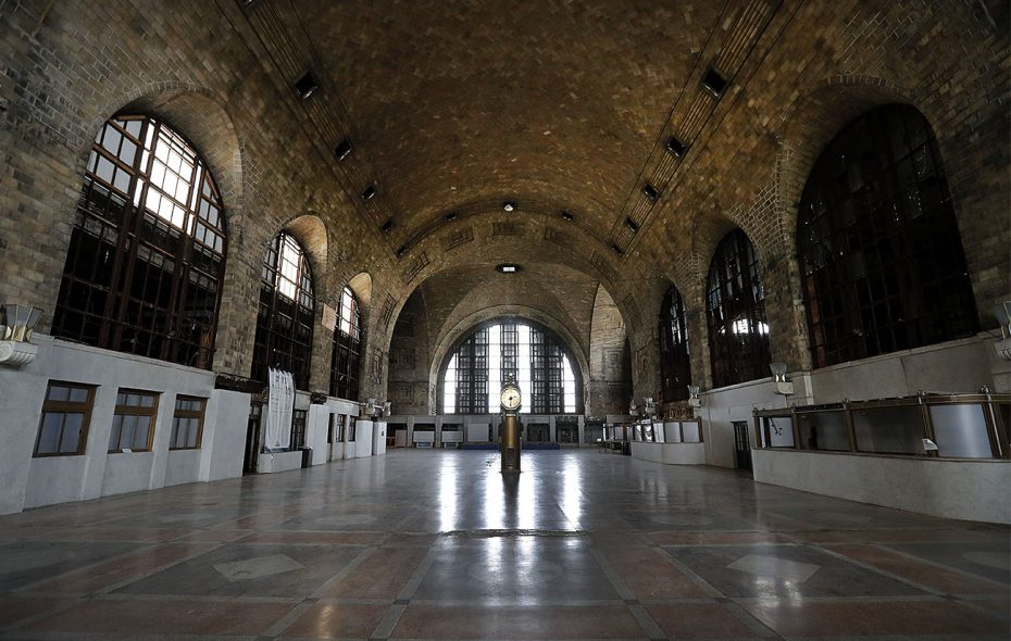 The path to restoring Buffalo's Central Terminal is through restoring the neighborhood where it exists.  (Mark Mulville/Buffalo News)