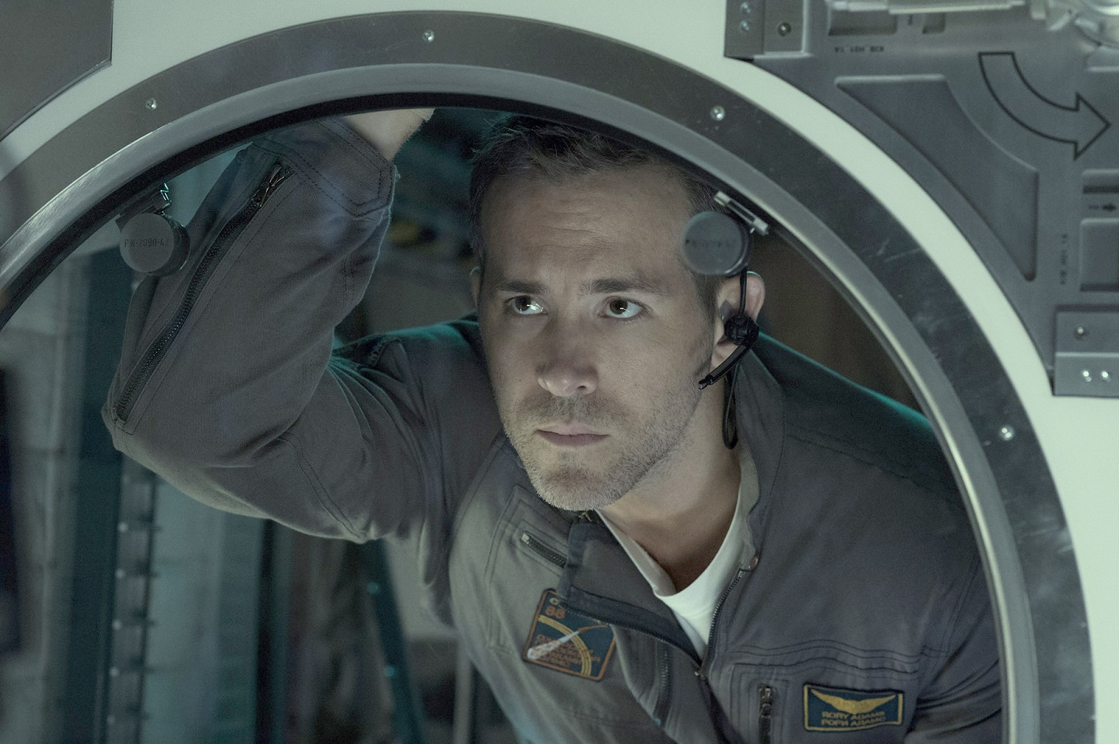 "Ryan Reynolds plays a wise-cracking engineer/space cowboy in ""Life.""  (Alex Bailey, Sony Pictures Entertainment)"