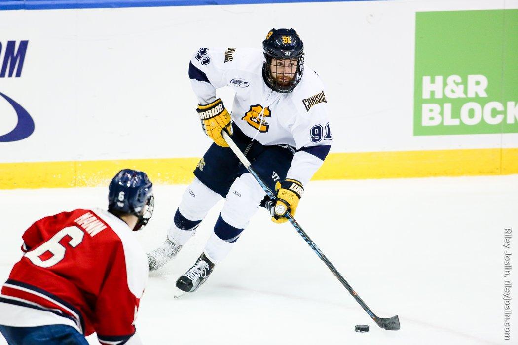 Canisius ended its season in the Atlantic Hockey semifinals. (Riley Joslin)