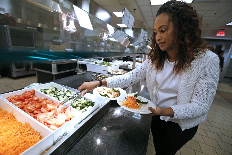Use the MyPlate strategy when choosing foods during March, National Nutrition Month. You're bond to look and feel healthier. (Robert Kirkham/Buffalo News file photo)