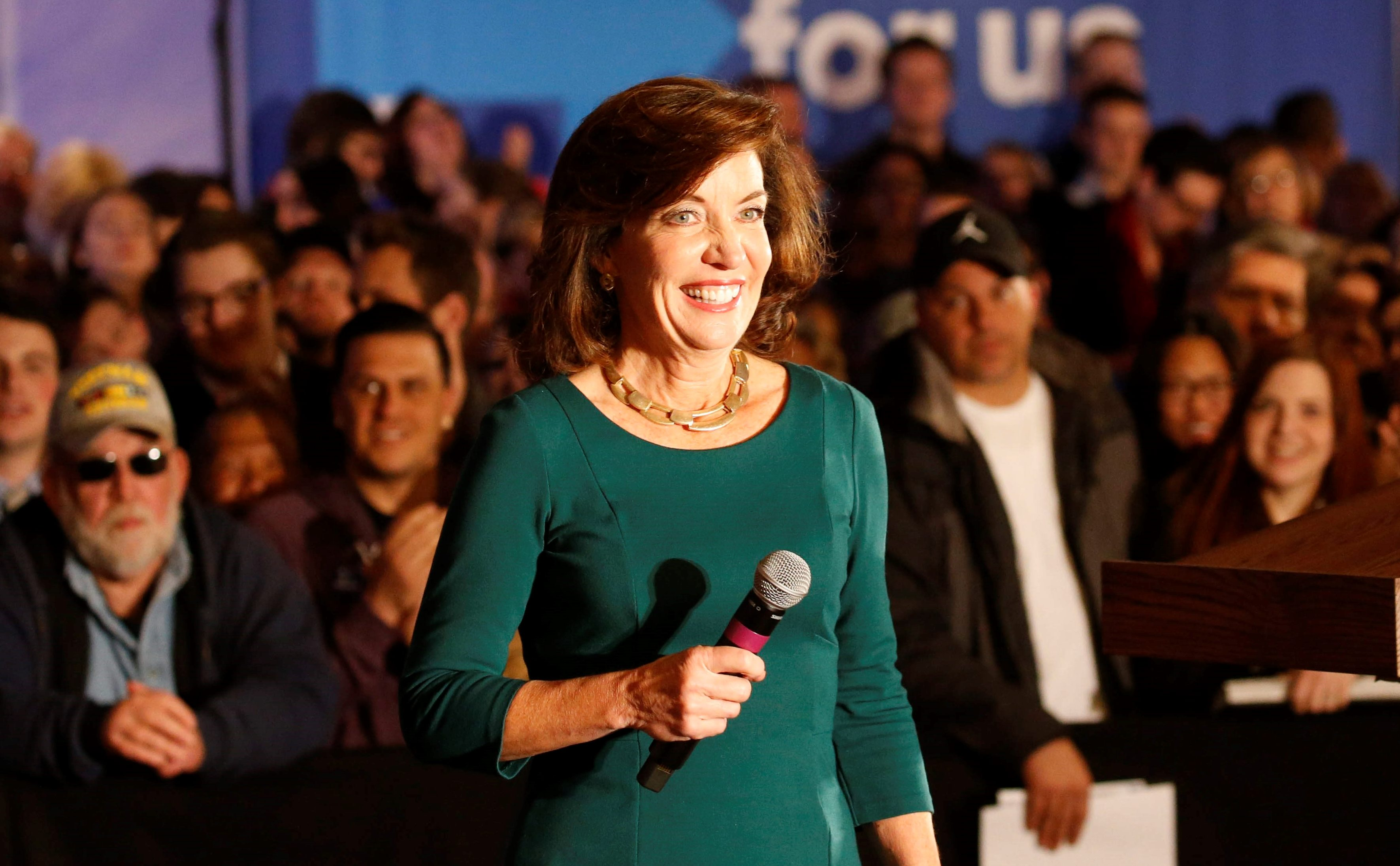 Lt. Gov. Kathy Hochul has lashed out at Rep. John Faso, who co-authored the Medicaid amendment to the GOP health care bill with Rep. Chris Collins. (Derek Gee/Buffalo News)