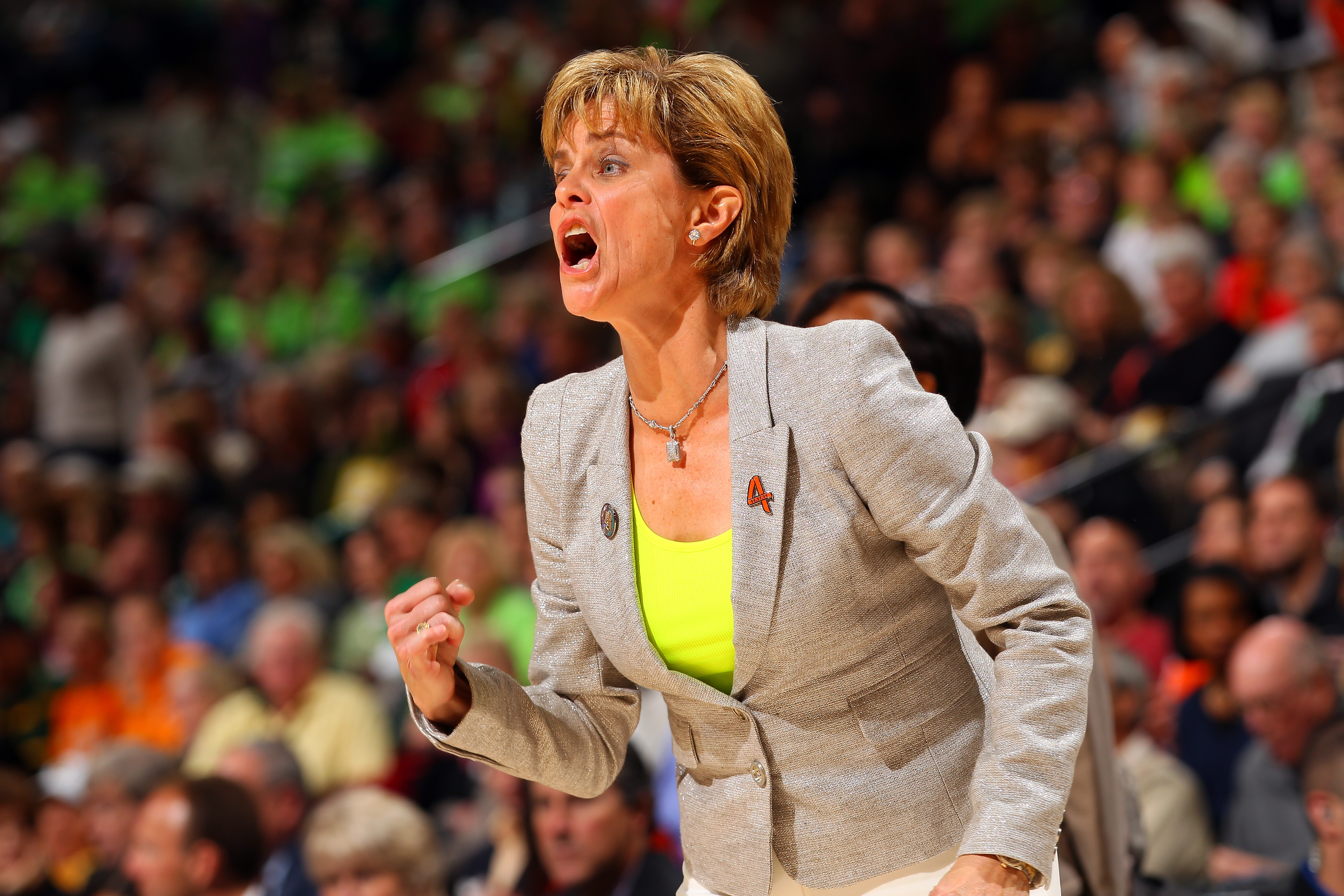 Kim Mulkey is passionate about Baylor. (Getty Images)
