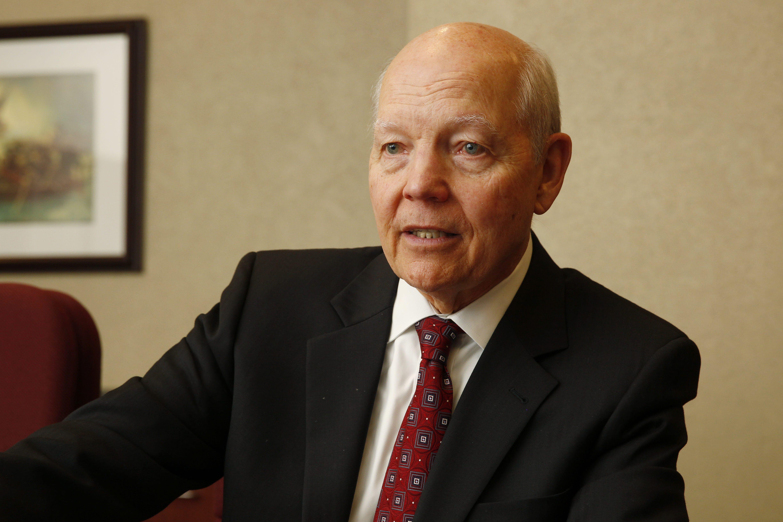 IRS Commissioner John Koskinen, during a 2014 visit to Buffalo. (Sharon Cantillon/Buffalo News)