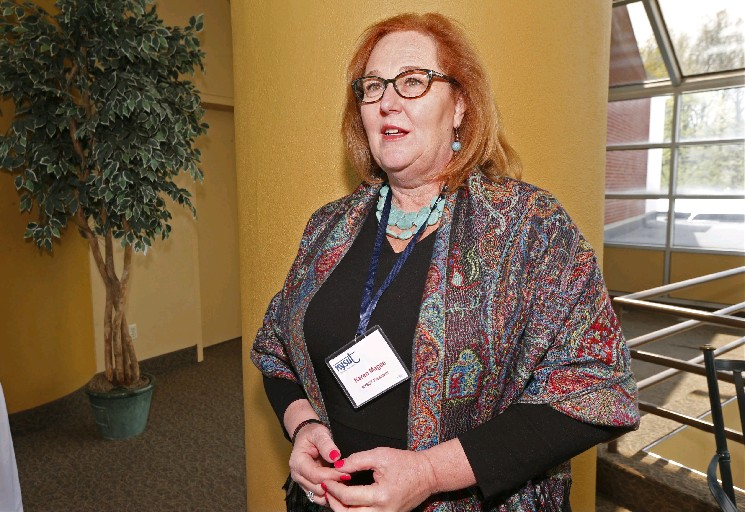 NYSUT President Karen Magee gave impetus to the opt-out movement, which revealed a split within the union and helped prompt her departure. (Robert Kirkham/News file photo)