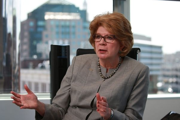 KeyCorp chairman and CEO Beth Mooney. (John Hickey/Buffalo News)