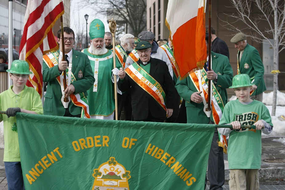 Niagara Falls holds its 'World's Smallest Parade' every year on St. Patrick's Day. (Derek Gee/Buffalo News file photo)