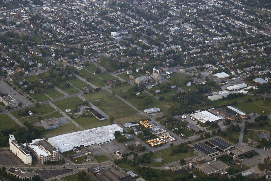 Richard Palladino, business manager of Laborers Local 91, said he would favor locating a convention center or arena in the area of land owned by Niagara Falls Redevelopment. (Derek Gee/Buffalo News file photo)