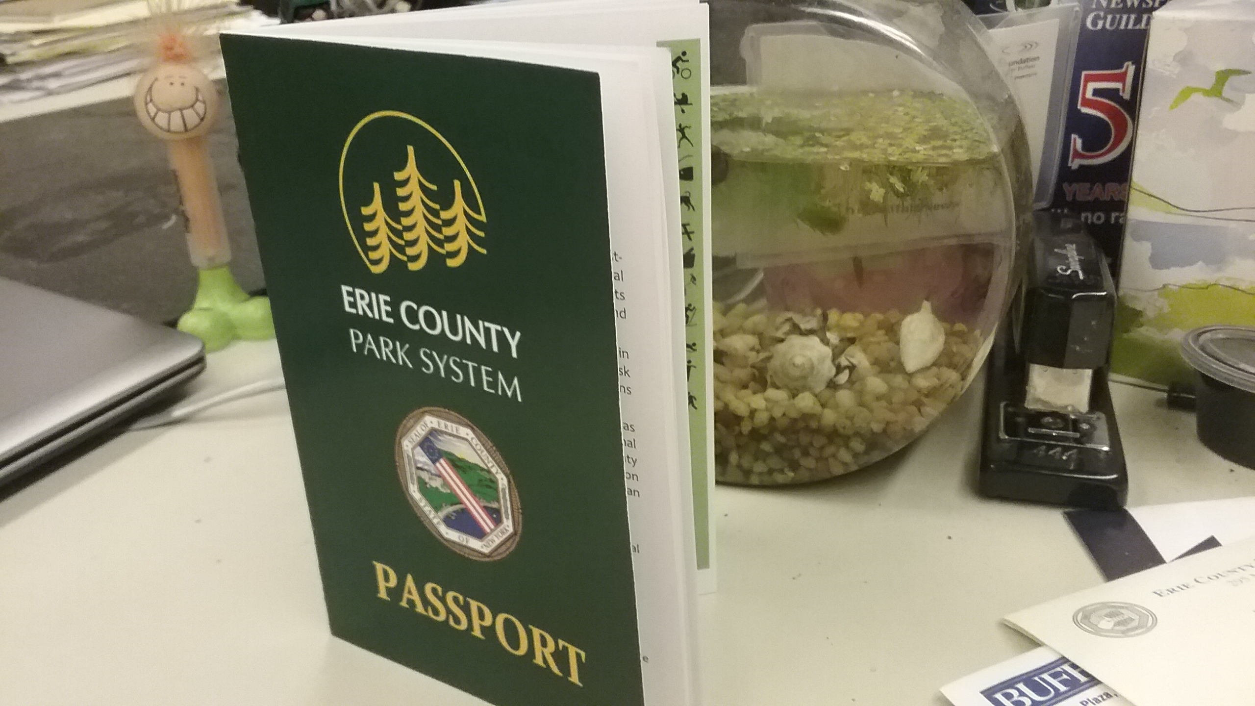 County Executive Poloncarz announced a new Junior Ranger program and county park passports at his 2017 State of the County address.