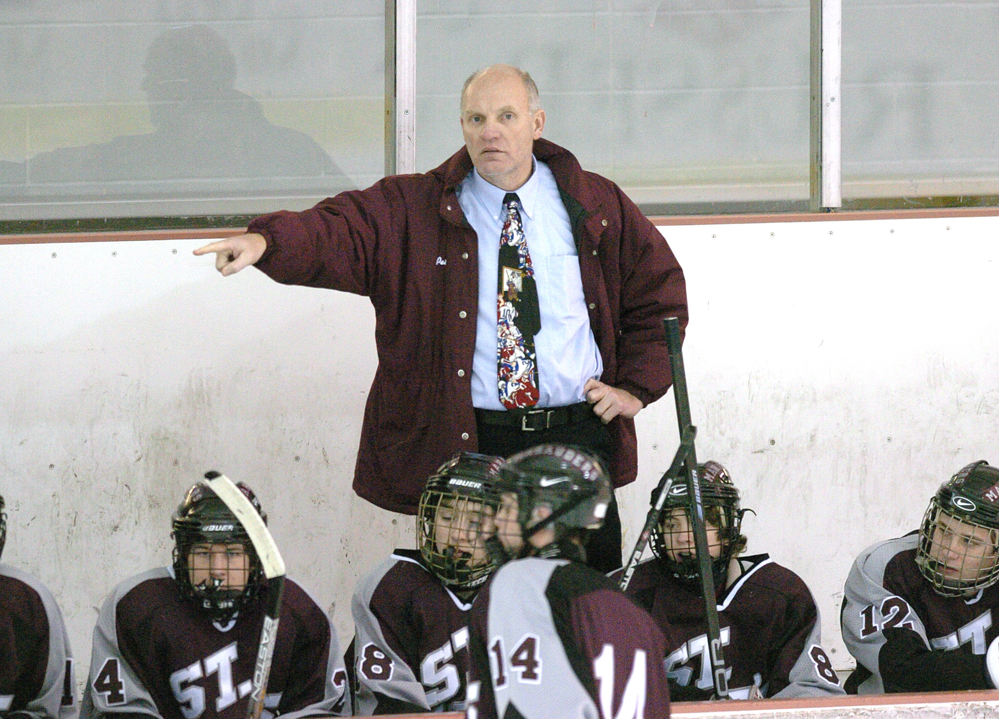Pete Schneider, pictured here in 2005, ends his 12-year run as being part of the St. Joe's sports leadership group. (James P. McCoy/Buffalo News)