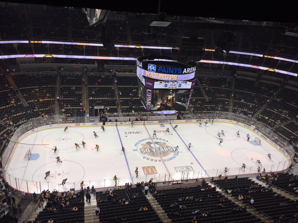 The Buffalo Sabres face the Pittsburgh Penguins. (John Vogl/Buffalo News)