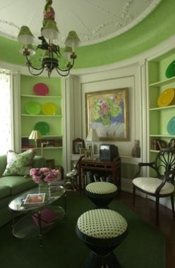 The Round Library By Conley Interiors In Show House 2001. (Buffalo News  File Photo)