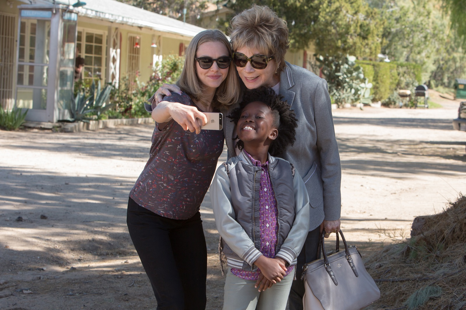 Amanda Seyfried, left,  Shirley MacLaine and Ann'Jewel Lee star in 'The Last World.'
