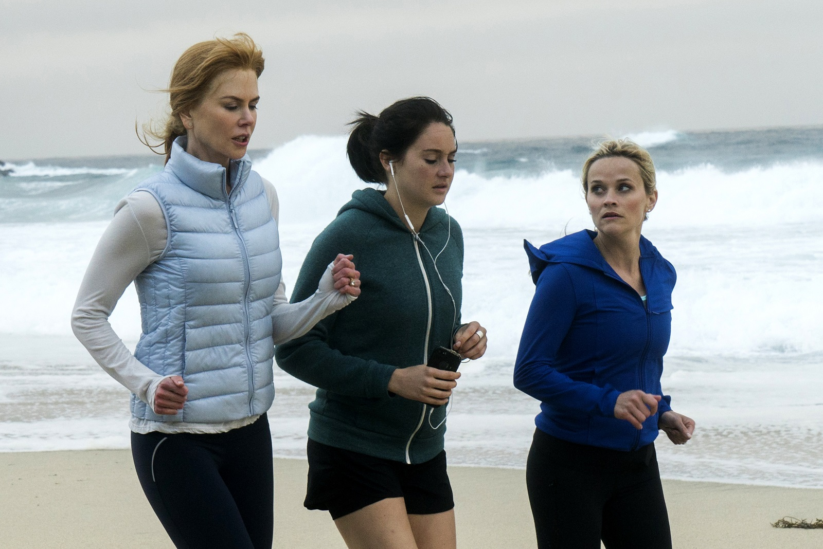Nicole Kidman, Shailene Woodley and Reese Witherspoon in HBO's 'Big Little Lies.' (Hilary Bronwyn Gayle, HBO)