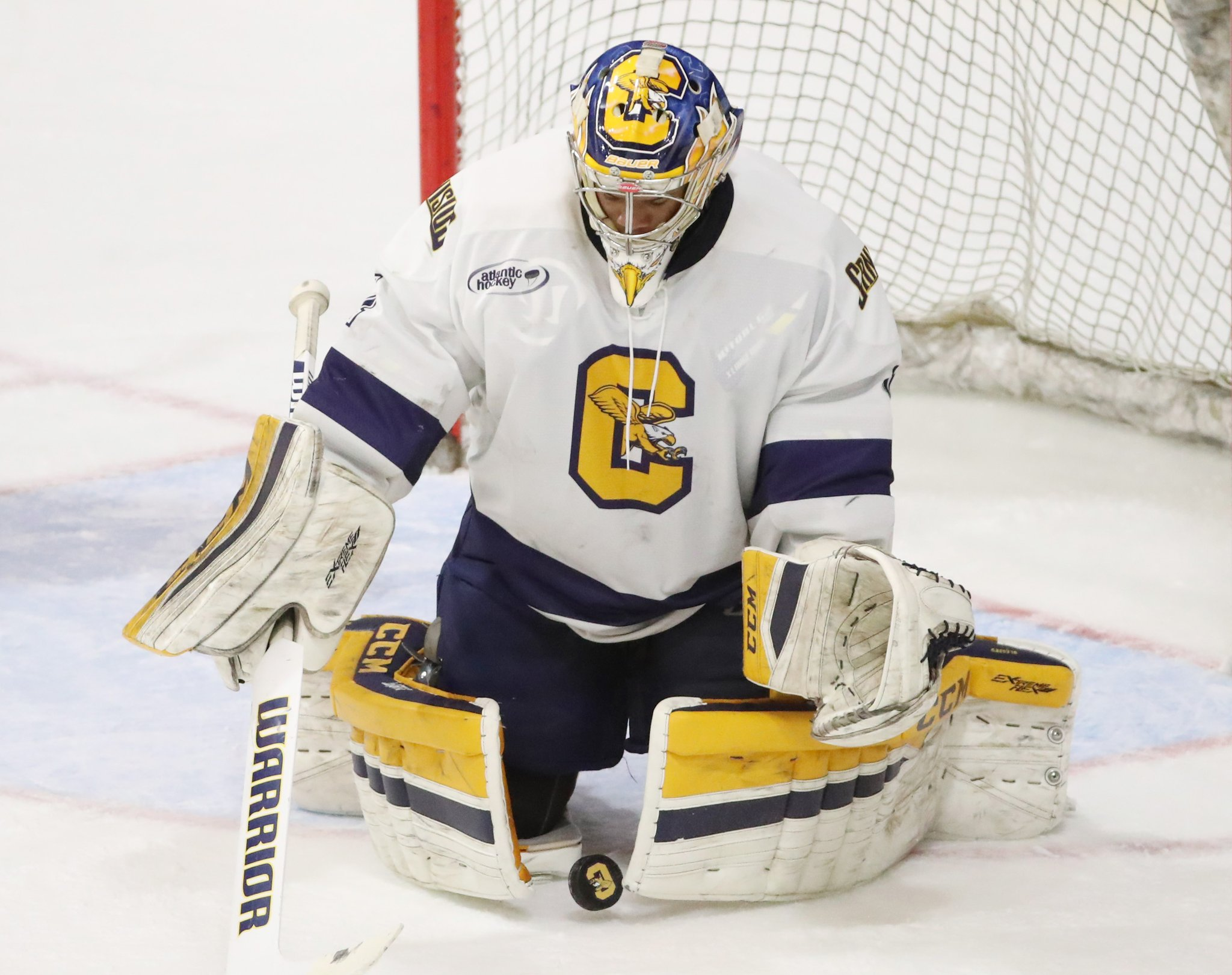 Charles Williams is one of five finalists for the Mike Richter Award. (James P. McCoy/Buffalo News)