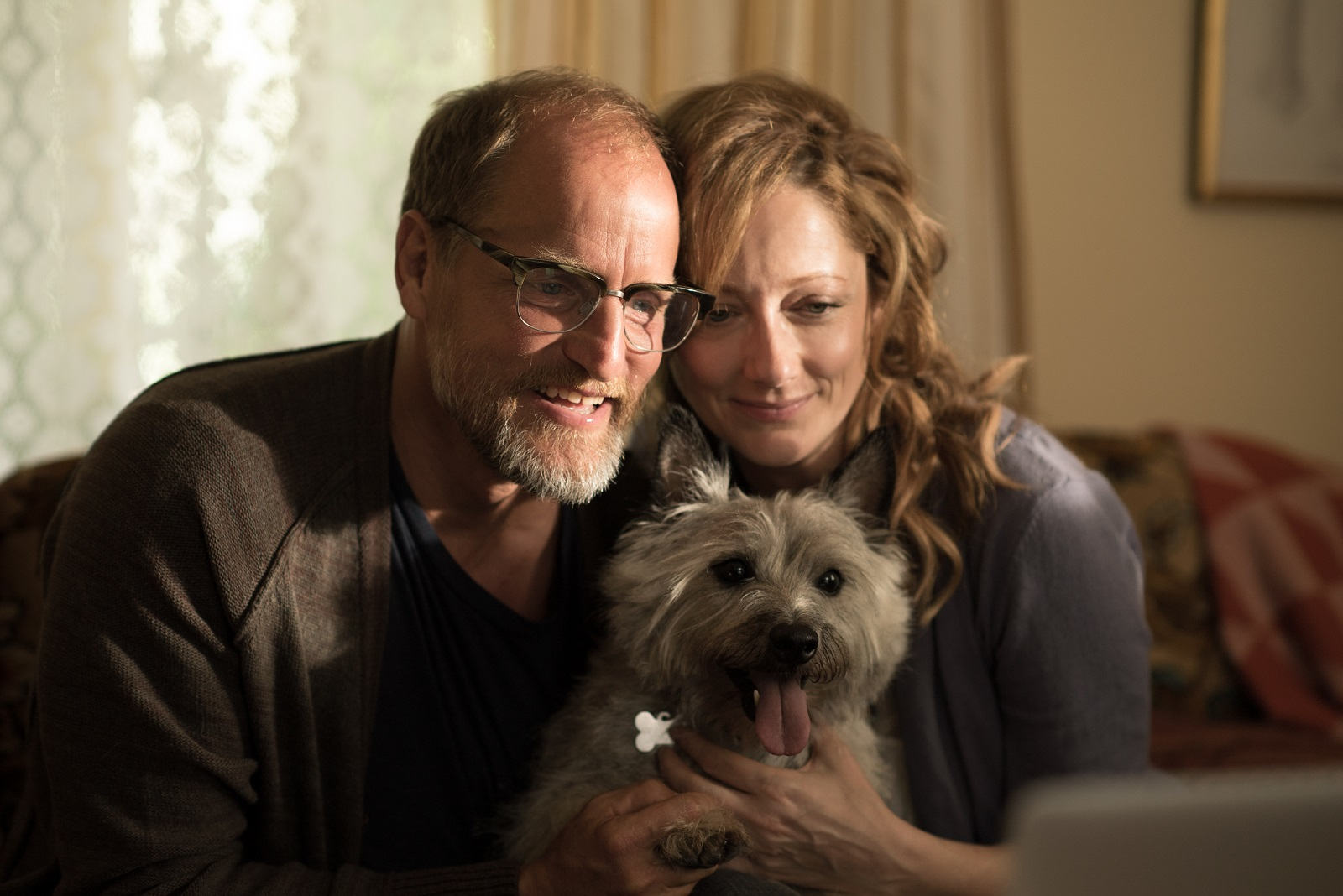 Woody Harrelson and Judy Greer star in the comedy 'Wilson.'