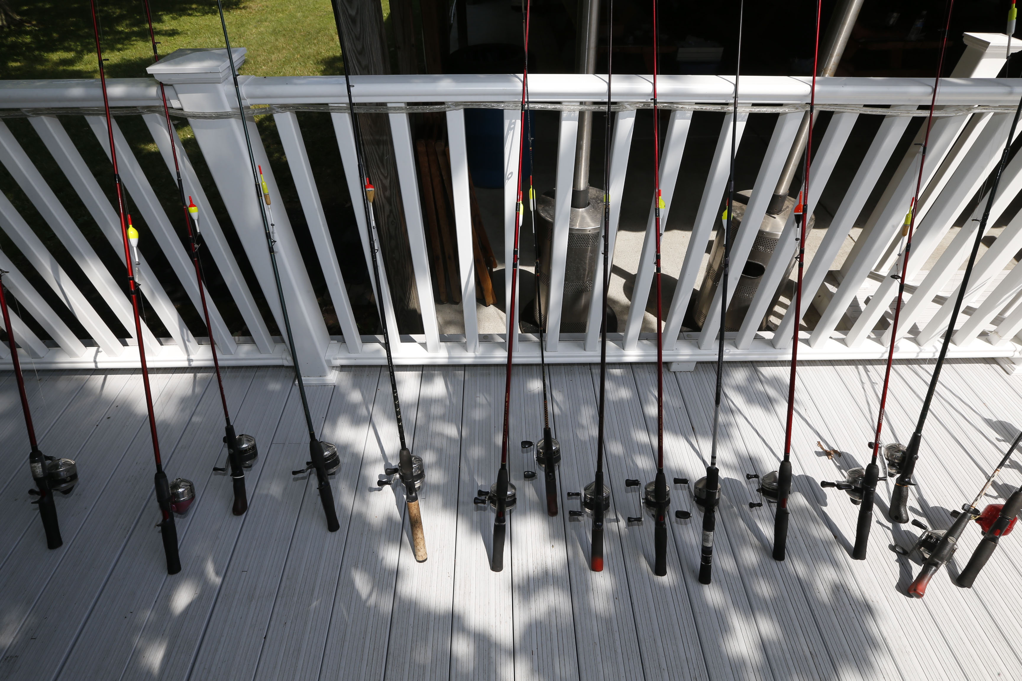 Fishing poles at the ready. (Robert Kirkham/Buffalo News file photo)