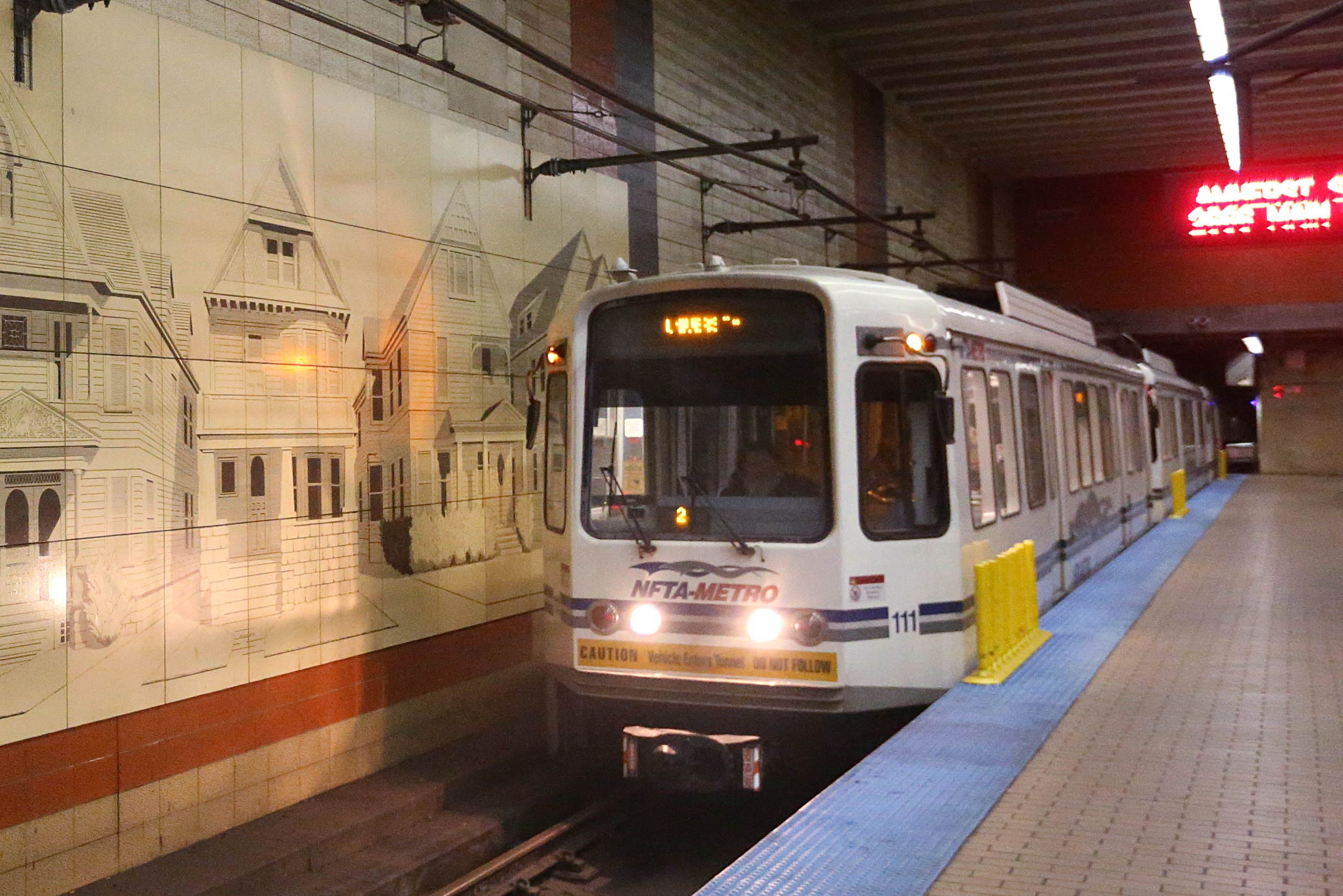 A proposed Metro Rail extension would mean a 30-minute trip from downtown Buffalo to Amherst. (Sharon Cantillon/Buffalo News)