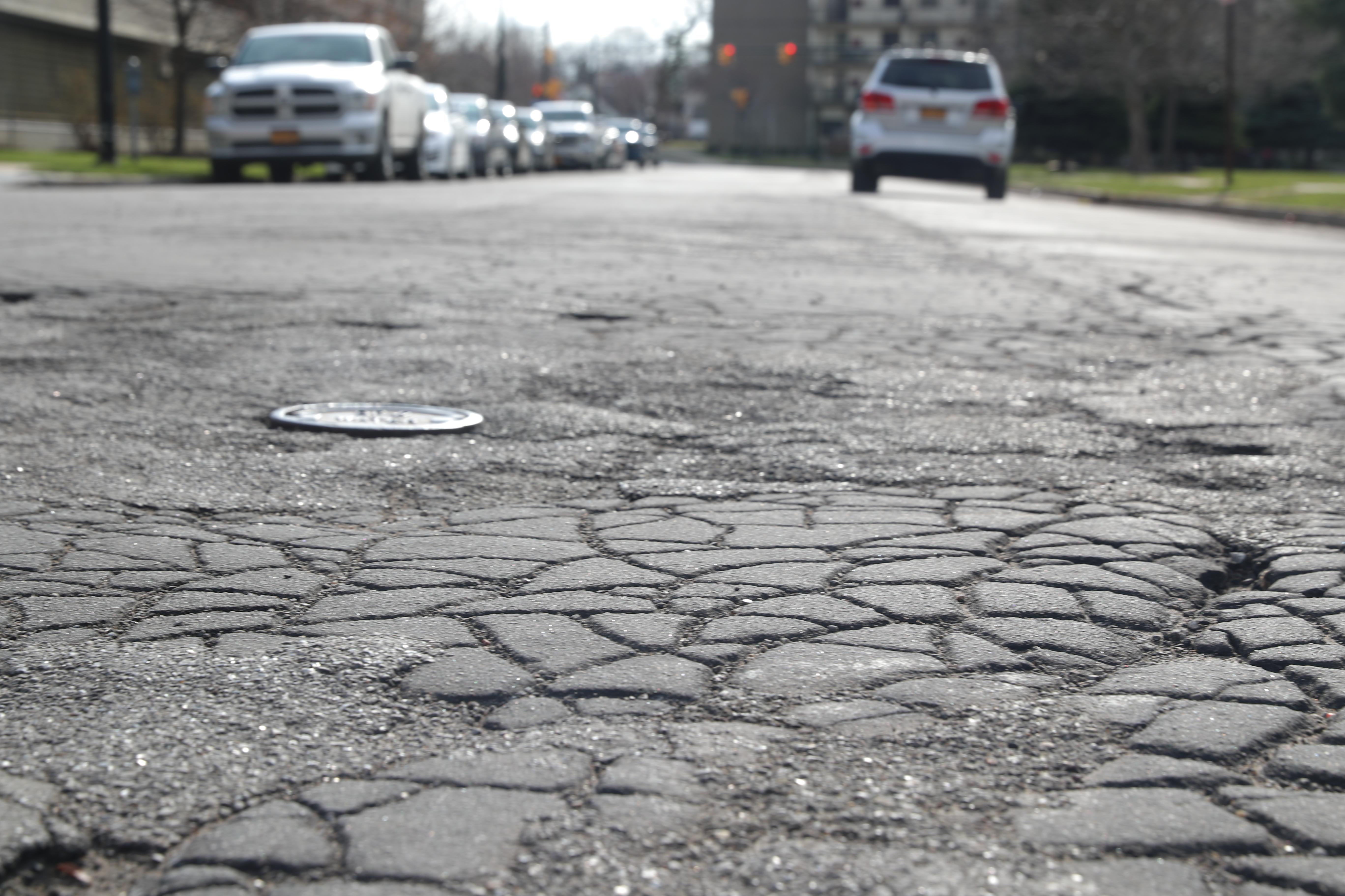 The Town of Tonawanda has announced three major road repair projects. (John Hickey/Buffalo News)