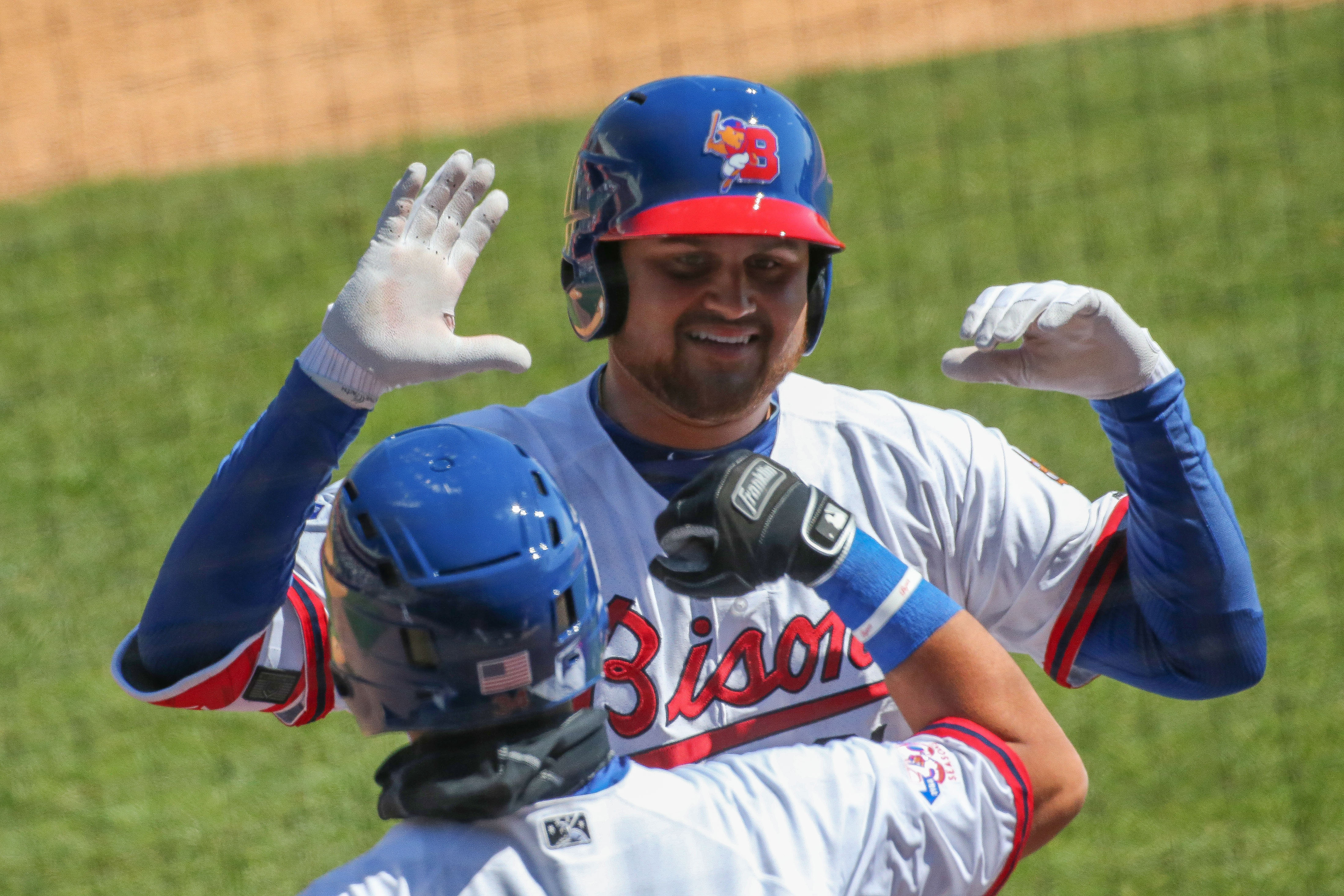 It was an up-and-down season for Blue Jays prospect Rowdy Tellez. (Derek Gee/Buffalo News)