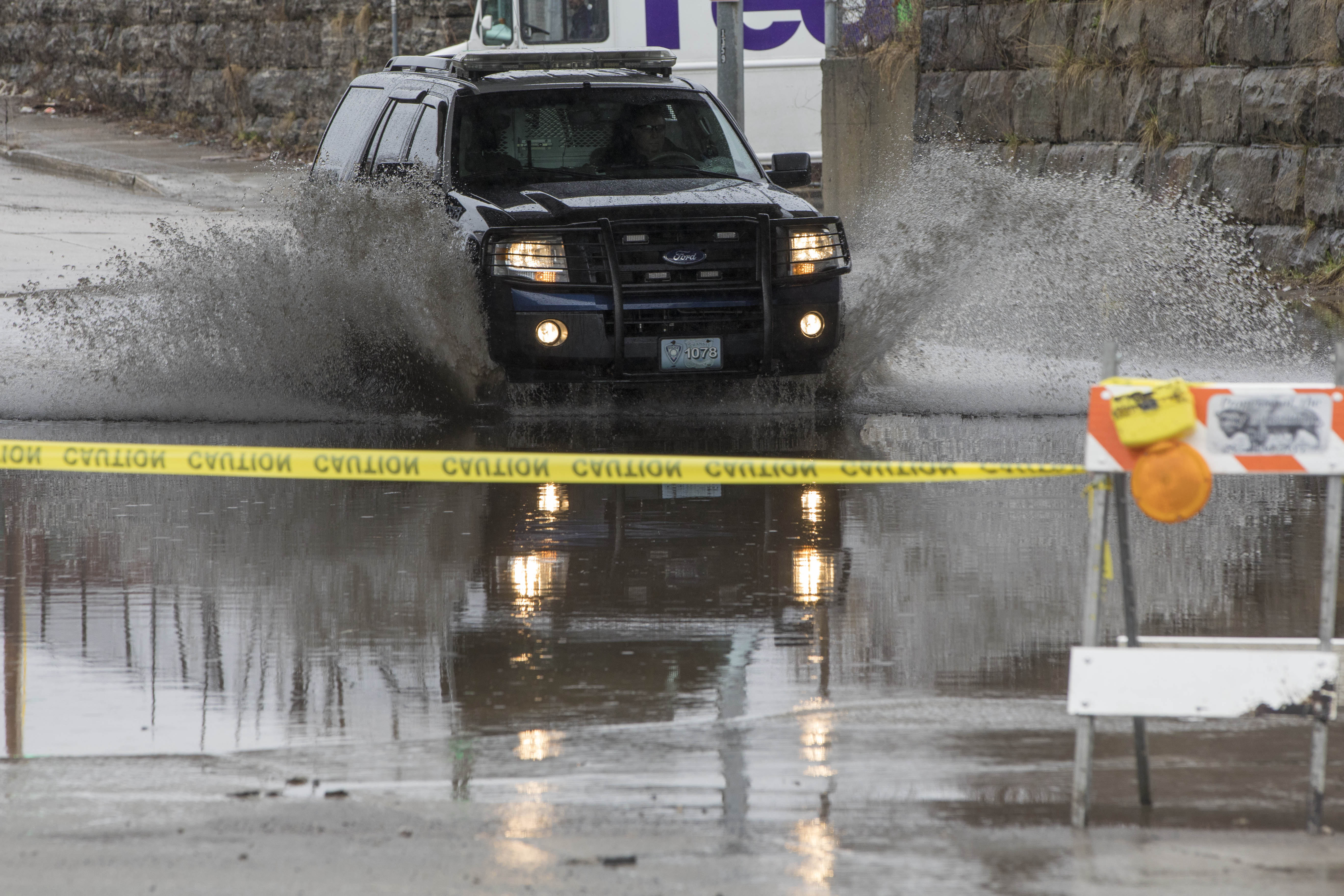 Flood warnings have been issued for parts of Western New York. (Derek Gee/Buffalo News)
