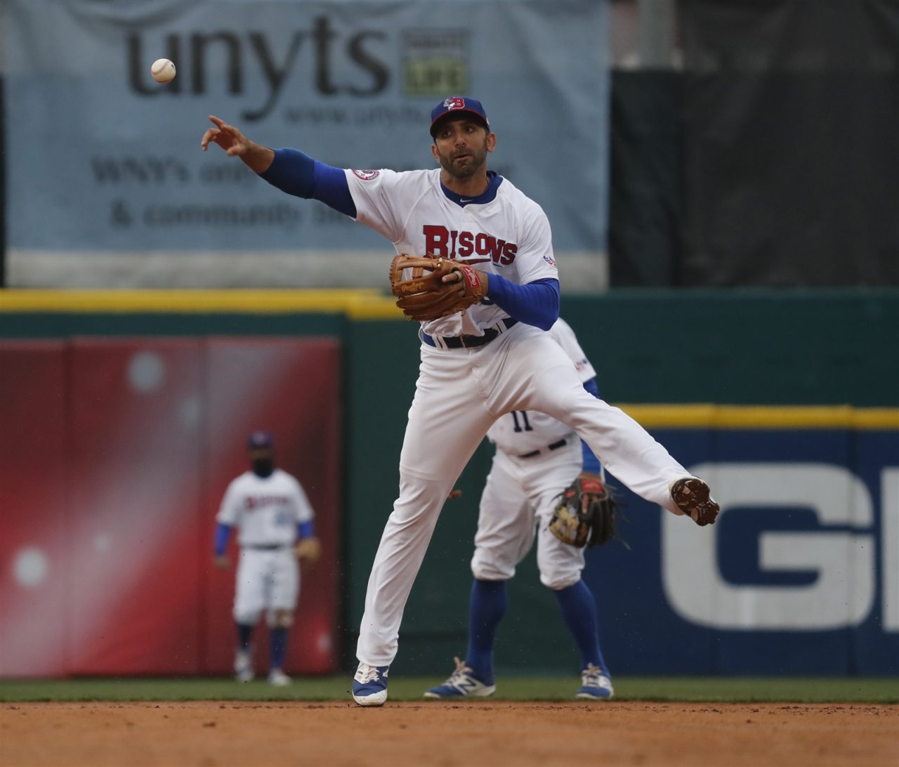 Jason Leblebijian said the new extra-inning rule has been interesting this season. (Harry Scull Jr./Buffalo News File Photo)