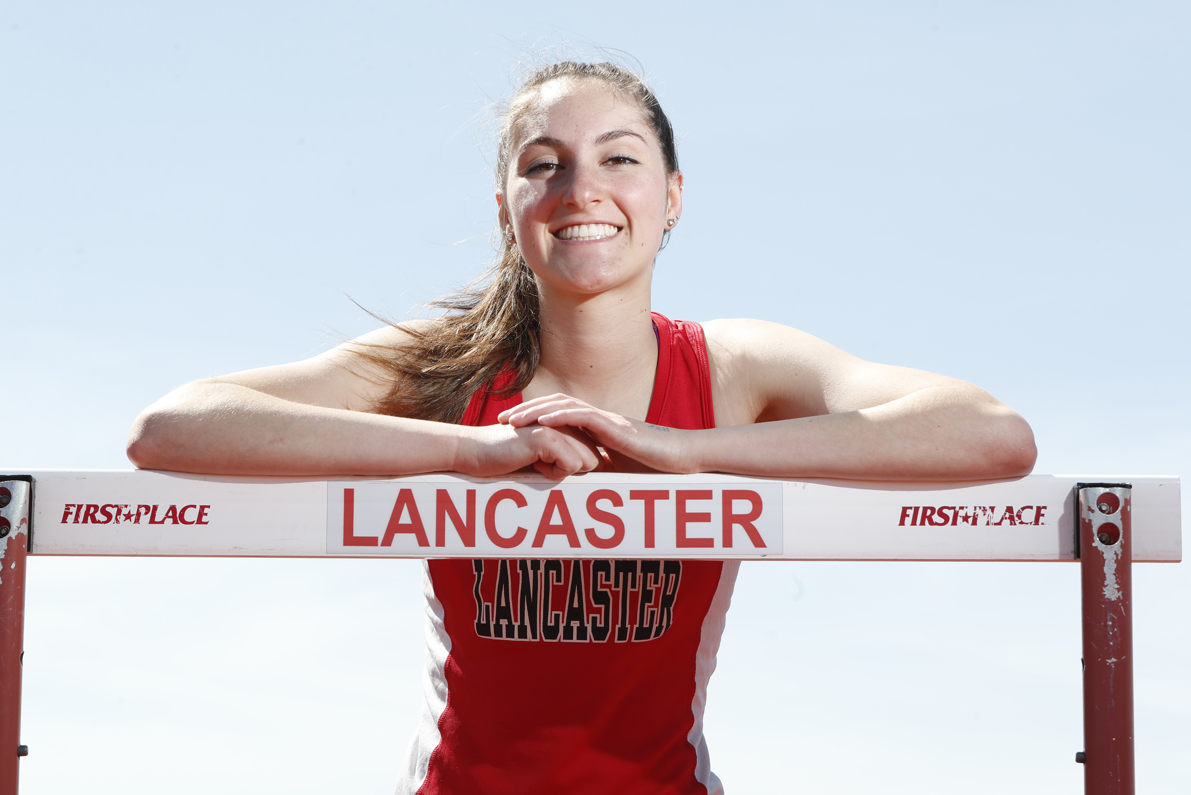 Prep Talk Female Athlete of the Week: Olivia Gervan, Lancaster. (Harry Scull Jr./Buffalo News)