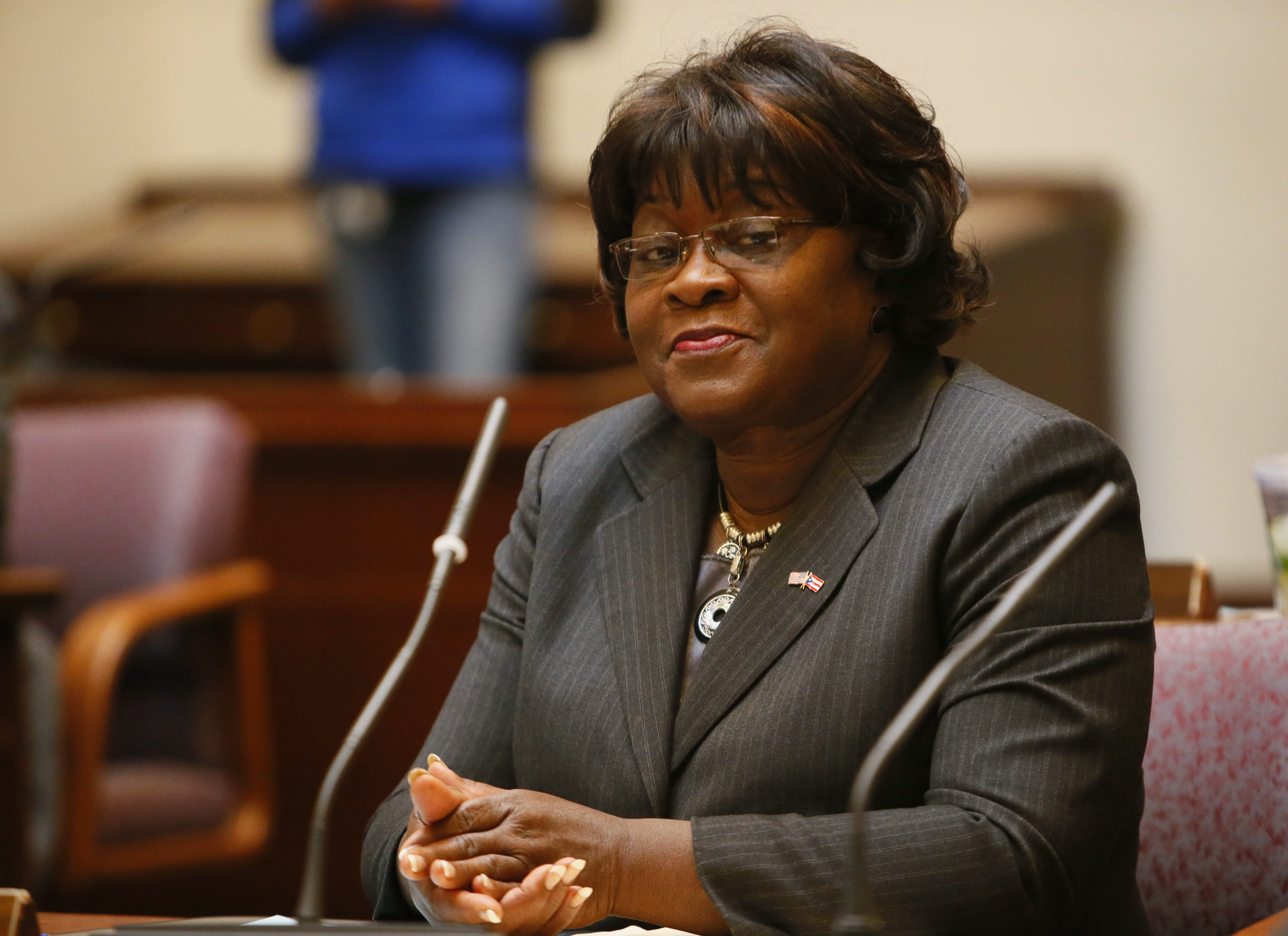 Erie County Legislator Betty Jean Grant has served in multiple elected positions, both at the city and county level. (Derek Gee/Buffalo News)