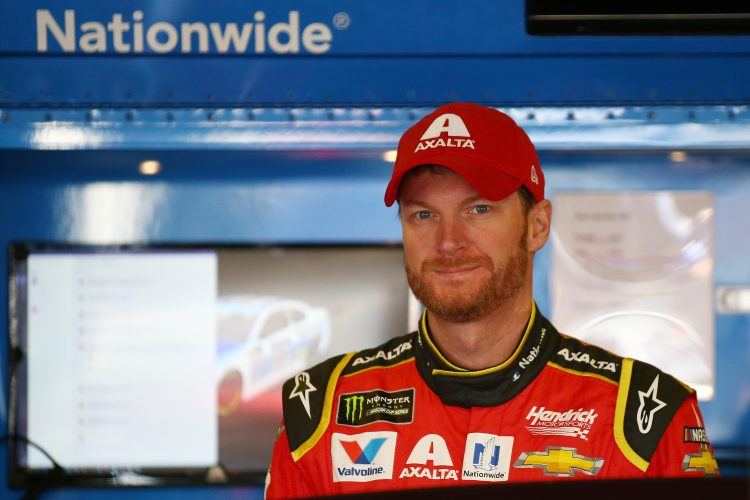 Dale Earnhardt Jr. plans to retire in November.  (Photo by Sarah Crabill/Getty Images)