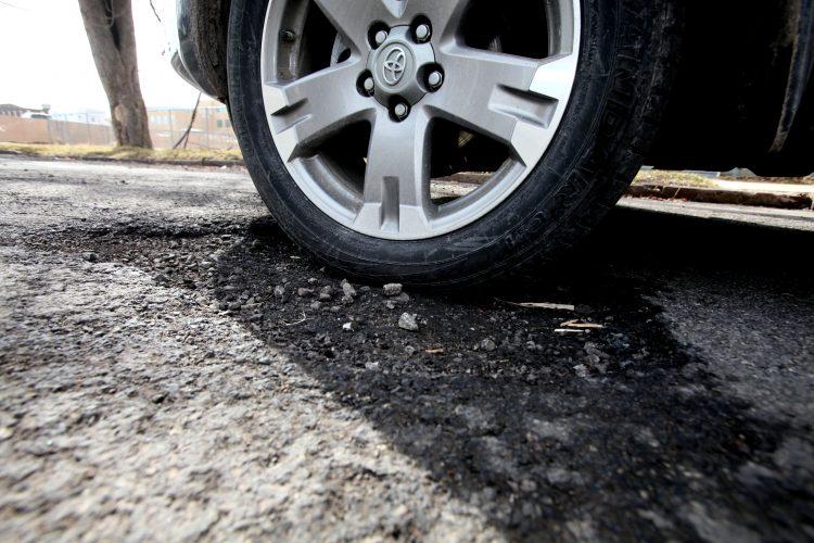 County Executive Mark Poloncarz prepares to spend an additional $3 million to fix county roads.  (Robert Kirkham/Buffalo News file photo)