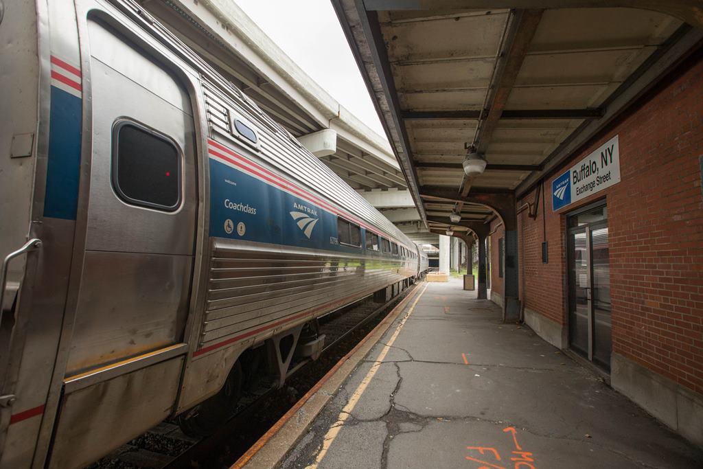 The current Amtrak Station on Exchange Street in Buffalo,   (Derek Gee/Buffalo News)