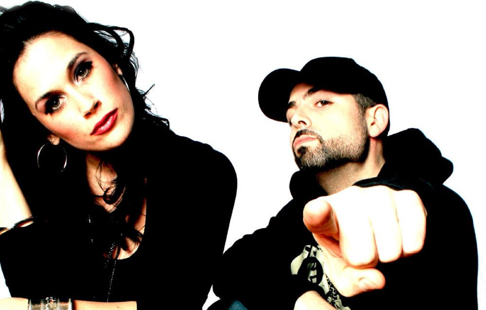 Buffalo's Breakerbox: Singer Christina DeNee, left, and drummer Scott Calandra.