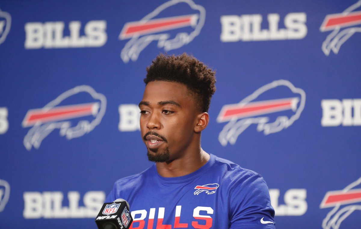 Bills quarterback Tyrod Taylor said he's not worried about any potential message the team would send if it drafts a quarterback in the first round next week. (Harry Scull Jr./Buffalo News)