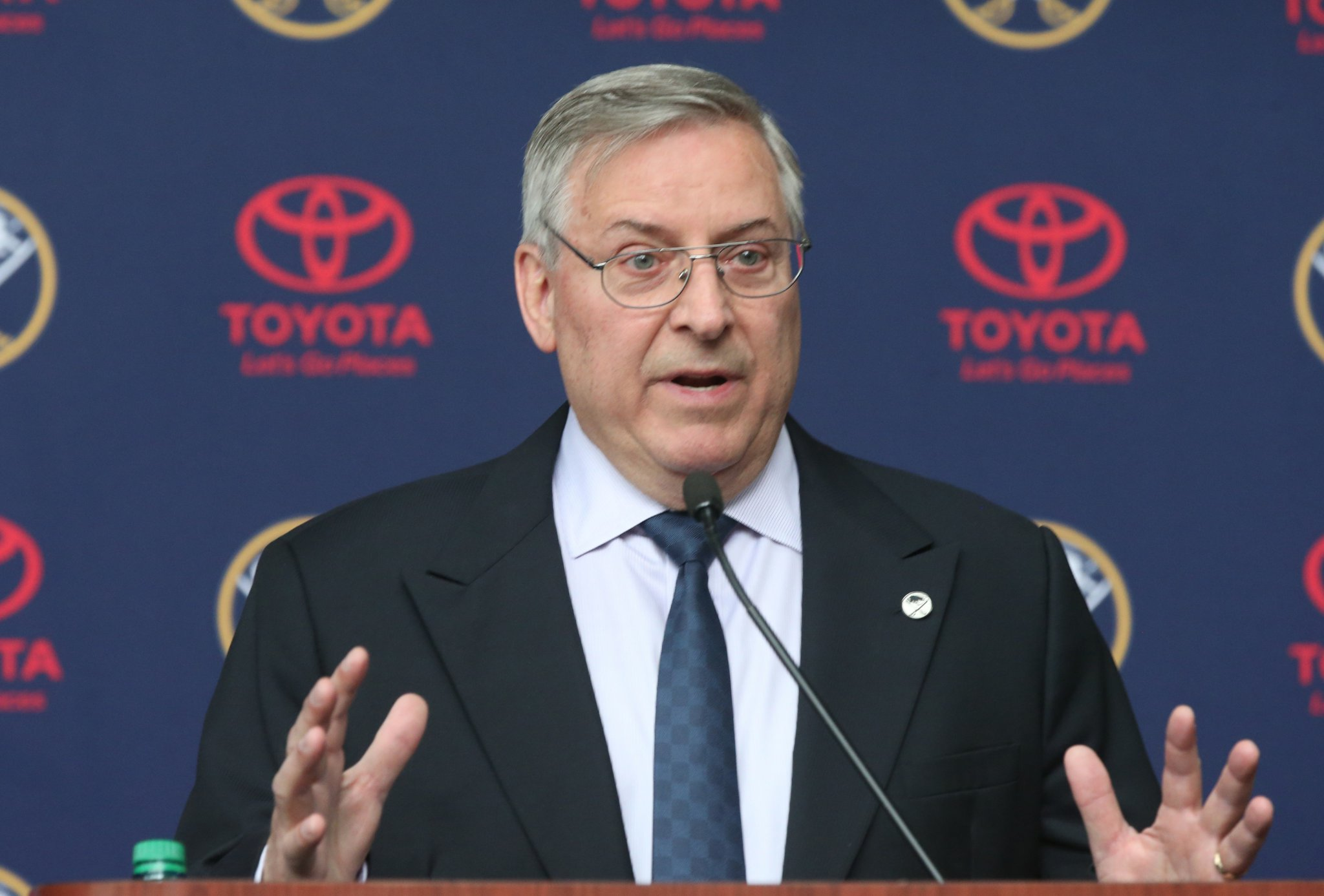 Terry Pegula says the Sabres' reason for existence is still to win the Stanley Cup. (James P. McCoy/Buffalo News)