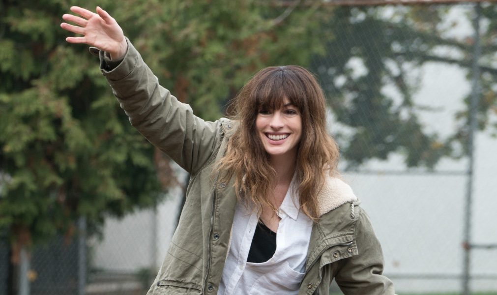 Anne Hathaway has an unusual tie to a creature in  the horror film 'Colossal.'