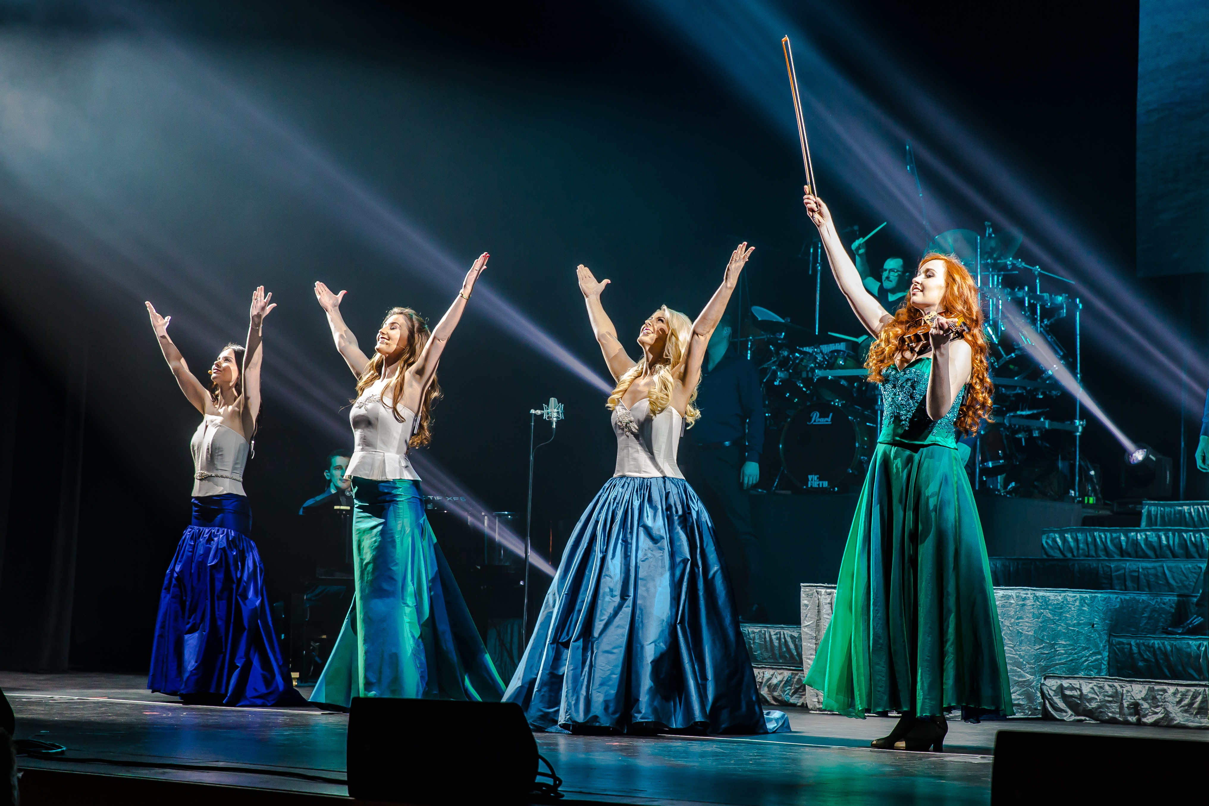 Celtic Woman performed a lovely and skilled concert at  Shea's Performing Arts Center. (Photo by Troy Fisher)