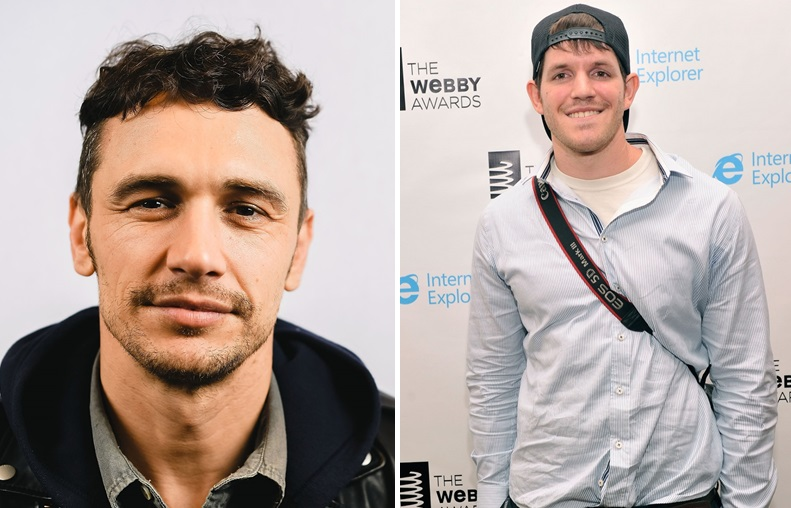 James Franco, left, will be replaced by Brandon Stanton, right, for the finale of the UB Distinguished Speakers Series. (Getty Images)